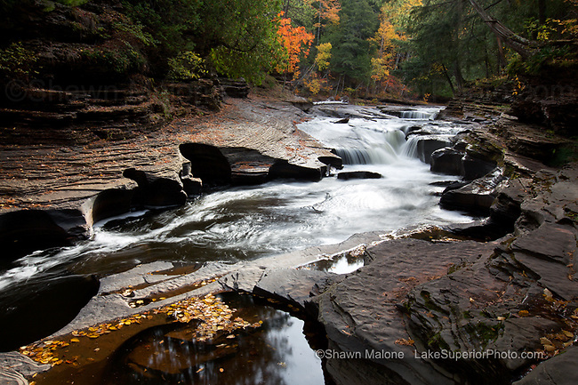 Presque Isle River, Autumn, Porcupine Mountains