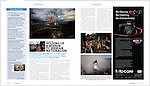 PDN September 2012. Feature about 'Only Unity' project and the BURN Emerging Photographer Fund prize 2012.