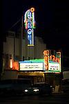The Art Deco WEl Rey Theater on Wilshire Blvd. in Los Angeles, CA