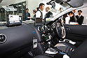 Apr. 26 - Tokyo, Japan - Interior of the world's first switchable-battery electric taxi is pictured in Tokyo on April 26, 2010. Global electric vehicle service provider Better Place demonstrated the taxi with the Japanese Ministry of Economy, Trade, and Industry, and Tokyo's largest taxi operator Nihon Kotsu.