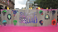 atmosphere at the &quot;Suicide Squad&quot; European film premiere, Odeon Leicester Square cinema, Leicester Square, London, England, UK, on Wednesday 03 August 2016.<br /> CAP/CAN<br /> &copy;CAN/Capital Pictures /MediaPunch ***NORTH AND SOUTH AMERICAS ONLY***