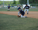 The Mariners' Jackson Newman fields the ball for an out vs. the Twins in Oxford Park Commission baseball action at FNC Park in Oxford, Miss. on Thursday, May 3, 2012.