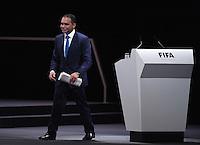 Fussball International Ausserordentlicher FIFA Kongress 2016 im Hallenstadion in Zuerich 26.02.2016 FIFA Praesidenten Kandidat H.R.H. Prinz Ali BIN AL HUSSEIN (Jordanien, FIFA-Exekutivkomitee)