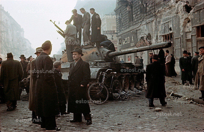 Hungary: 1956 Uprising in color