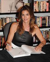 Cindy Crawford Book Signing