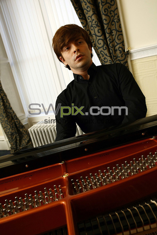 PICTURE BY VAUGHN RIDLEY/SWPIX.COM - Leeds International Pianoforte Competition 2009 - Devonshire Hall, Leeds University, Leeds, England - 10/09/09...Copyright - Simon Wilkinson - 07811267706...France's David Kadouch prepares for the final of the Leeds International Pianoforte Competition 2009..The Leeds International Pianoforte Competition final will be broadcast on BBC Radio 3 on the 13th of September and on BBC Four from Friday 18th of September every Friday till the 23rd of October.