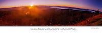 Sun on the Smoky Mountains