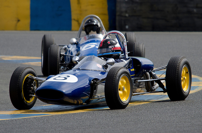 Historic Formula race cars
