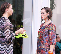 NEW YORK, NY-August 17: Sutton Foster, Miriam Shor shooting the current season of TV LAND Younger in New York. August 17, 2016. Credit:RW/MediaPunch