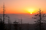 Sunrise as viewed from Clingman's Dome