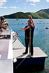 New Zealand, South Island, Green Mussel Cruise out of Havelock, Marlborough, on ship Odyssea to see mussel farming and scenery in Kenepuru Sound. Photo copyright Lee Foster. Photo #126189