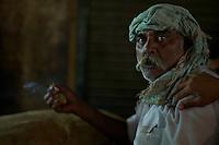 Man In the streets of Old Delhi Old Delhi, India