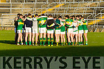 Kerry in action against  Limerick in the Final of the McGrath Cup at the Gaelic Grounds on Sunday.