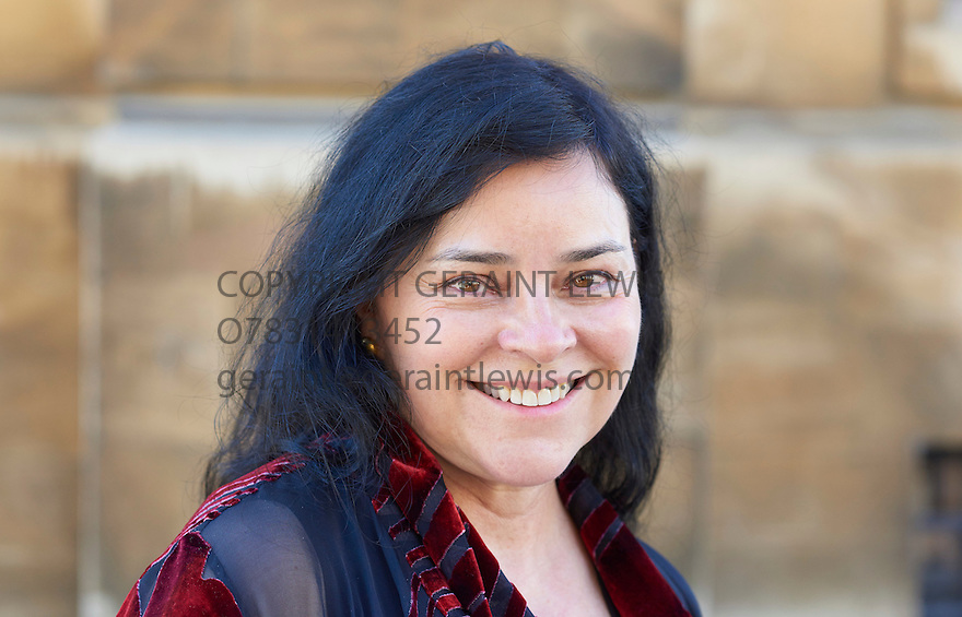 Diana Gabaldon, American author and writer of thebest selling Outlander novels at The Sheldonian Theatre - DIANA-GABALDON-3610