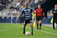 Kansas City, KS - June 16. 2015: Sporting Kansas City defeated Saint Louis FC 1-0 in an U.S Open Cup game at Sporting Park.