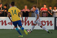 LAKEWOOD RANCH, FL - December 4, 2016:  The U.S. Men's National team U-17s vs Brazil.  2016 Nike International Friendlies at Premier Sports Campus.