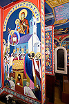 Founding of the St. Sava Church by iconographer Miloje Milinkovich. St. Sava Serbian Orthodox Church, Jackson, Calif.
