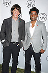 "honorees Dennis Crowley and Naveen Selvadurai of Foursquare attending The ""Made in NY"" Awards at Gracie Mansion.on June 6, 2011. Matt Damon, John Leguizammo and Lauren Zalaznick and Sidney Lumet were the honorees."