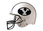 BYU Football Jersey and Helmet<br /> March 2005<br /> Photography by Mark A. Philbrick
