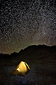 WY01231-00...WYOMING  - Night at Titcomb Basin in the Wind River Range of the Bridger Wilderness Area.