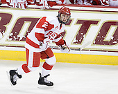 Jill Cardella (BU - 22) - The Northeastern University Huskies tied Boston University Terriers 3-3 in the 2011 Beanpot consolation game on Tuesday, February 15, 2011, at Conte Forum in Chestnut Hill, Massachusetts.