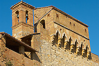 Town Entrance walls and chaple - San Gimignano - Italy