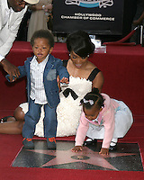 Angela Bassett, and children Josiah and Bronwyn.Angela Bassett Receives a Star on the Hollywood Walk of Fame.Hollywood Boulevard.Los Angeles, CA.March 20, 2008.©2008 Kathy Hutchins / Hutchins Photo