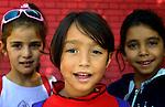 Roma girls in the Nasa Radost preschool in Smederevo, Serbia.
