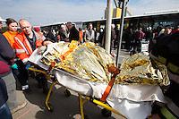 Terrorisrt attack at Brussels airport - Belgium - Exclusive