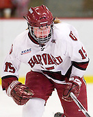 Katharine Chute (Harvard - 15) - The Harvard University Crimson defeated the St. Lawrence University Saints 8-3 (EN) to win their ECAC Quarterfinals on Saturday, February 26, 2011, at Bright Hockey Center in Cambridge, Massachusetts.