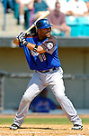 18 March 2006: Ramon Castro, catcher for the New York Mets, at bat during a Spring Training game against the Washington Nationals at Space Coast Stadium, in Viera, Florida. The Nationals defeated the Mets 10-2 in Grapefruit League play...Mandatory Photo Credit: Ed Wolfstein Photo..