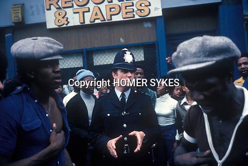 Notting Hill Carnival 1976 London.