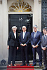 Theresa May MP <br /> Prime Minister <br /> welcomes President Marcelo Rebelo de Sousa of Portugal to 10 Downing Street, London, Great Britain <br /> 16th November 2016 <br /> <br /> <br /> Theresa May <br /> and <br /> President Marcelo Rebelo de Sousa of Portugal<br /> <br /> Photograph by Elliott Franks <br /> Image licensed to Elliott Franks Photography Services