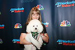 AGT Contestant Kelsey and Bailey At America's Got Talent Post Show Red Carpet at Radio City Music Hall, NY