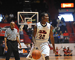 "Ole Miss' Jarvis Summers (32) vs. Miami at the C.M. ""Tad"" Smith Coliseum in Oxford, Miss. on Friday, November 25, 2011. Ole Miss won 64-61 in overtime."
