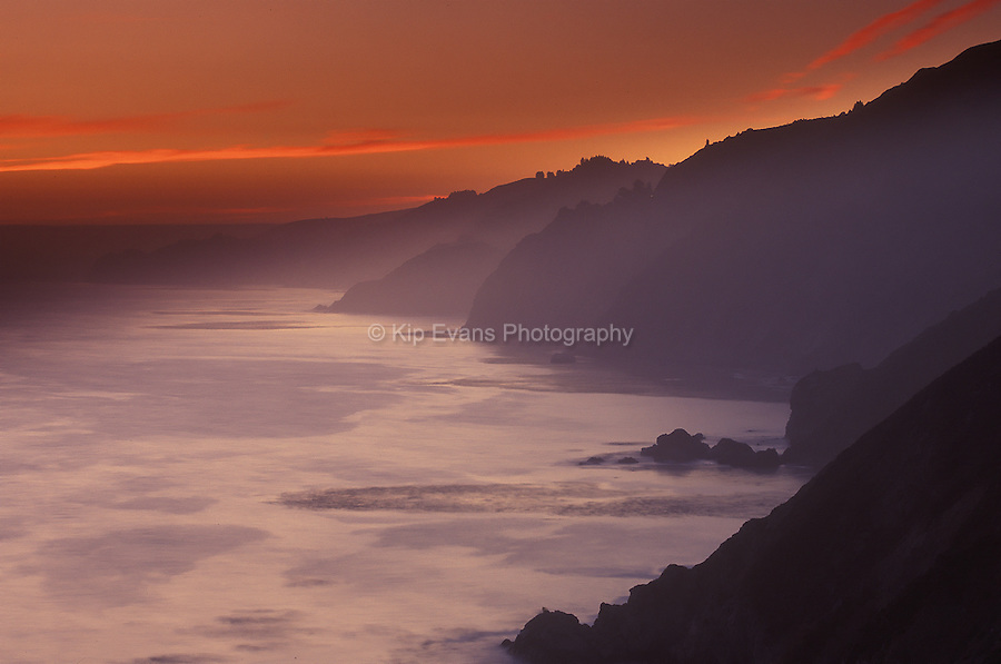 Big Sur Coast Sunset