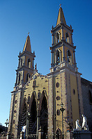 Catedral de Inmaculada Concepcion, the nineteenth century cathedral on the main plaza in old Mazatlan, Sinaloa, Mexico