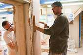 Plastering students, Able Skills, Dartford, Kent.