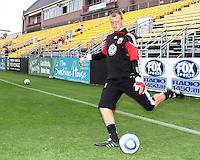 Joe Willis#31 of D.C. United during a second round match of the Carolina Challenge against the Chicago Fire on March 9 2011 at Blackbaud Stadium, in Charleston, South Carolina. D.C. United won 1-0.