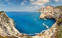 Wild beautiful bay near Porto Katsiki in Lefkada, Greece