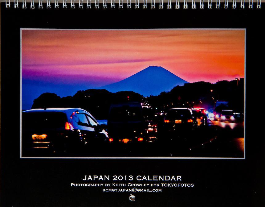 Cover Japan Calendar 2013,