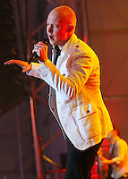 Isaac Slade of The Fray performs at the Direct TV Beach Bash during Super Bowl XLVI activities in Indianapolis, Indiana.