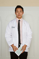 Chang-wei Huang. White Coat Ceremony, class of 2016.