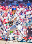 1 June 2014: Texas Rangers starting pitcher Yu Darvish on the mound against the Washington Nationals at Nationals Park in Washington, DC. The Rangers shut out the Nationals 2-0 to salvage the third the third game of their 3-game inter-league series. Mandatory Credit: Ed Wolfstein Photo *** RAW (NEF) Image File Available ***