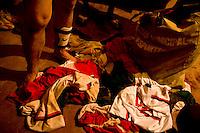 Belo Horizonte_MG, Brasil...1a Copa Kaiser de Futebol Amador de Belo Horizonte. Na foto partida entre  Palestra (verde)  x  Bandeirante (branco)...1st Kaiser Cup of Amateur Football in Belo Horizonte. The match was between Palestra  (green) x  Bandeirante (white)...Foto: NIDIN SANCHES / NITRO