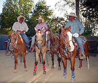CITY OF INDUSTRY, CA - JULY 16: Cowboys attend the 32nd Annual Bill Pickett Invitational Rodeo Rides, Southern California at The Industry Hills Expo Center in the City of Industry on July 16, 2016 in the City of Industry, California. Credit: Koi Sojer/Snap'N U Photos/MediaPunch