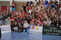 VOLLEYBAL: SNEEK: 25-04-2015, Sneker Sporthal, VC Sneek Kampioen van Nederland, uitslag 3-1, ©foto Martin de Jong