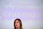 Boschi presenta l'iniziativa M'illumino d'Erasmus