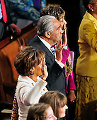 United States Representative Charlie Rangel (Democrat of New York) is sworn-in for another term in the U.S. House of Representatives.  Incoming U.S. House Speaker John Boehner (Republican of Ohio), not pictured, administers the oath..Credit: Ron Sachs / CNP.(RESTRICTION: NO New York or New Jersey Newspapers or newspapers within a 75 mile radius of New York City)