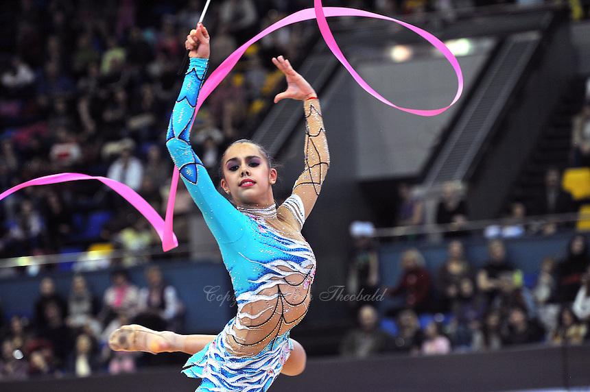 RITA MAMUN of Russia at 2012 World Cup Kiev, Ukraine on March 18th.